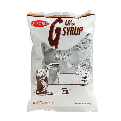 オリゴ糖入り ガムシロップ (24個入り)